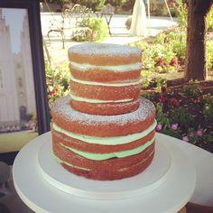 Naked cake.