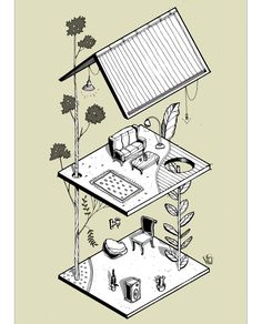 Gallery of These Axonometric Illustrations Explore the Power of Digital Tools in Architectural Representation - 8