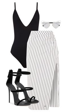 """Untitled #124"" by sofiaosousa ❤ liked on Polyvore featuring Off-White and Yves Saint Laurent"