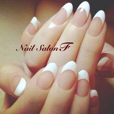 恵比寿 プライベートネイルサロンF ホワイトラインなしのフレンチ 美しいです。
