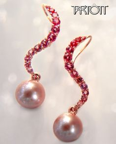 Spinel & Freshwater Pearl