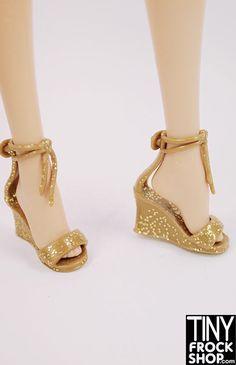 Barbie Disco Wedge Heels - MORE COLORS!!