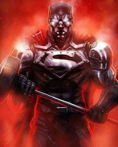 Dc Heroes, Comic Book Heroes, Comic Books Art, Mundo Superman, Superman Art, Superman Family, Superman Stuff, Steel Dc Comics, Superman Wallpaper