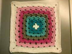 Ravelry: Project Gallery for Yarn Clouds Square pattern by Amelia Beebe