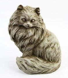 Chester Cat Concrete Statue -- Clicking on the image will lead you to find similar product
