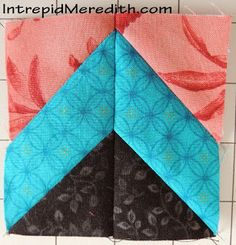 Intrepid Meredith: Celtic Solstice Mystery Quilt, Part 2 - extra tutorial - great addition to Bonnie Hunter's instructions