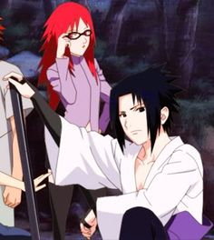 Team taka me n sasuke Naruto Uzumaki, Karin Uzumaki, All Anime, Anime Love, Hidden Mist Village, Annoying Girls, Naruto Family, I Ninja, Sasuhina
