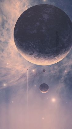Align with the planets, the stars and the moon.