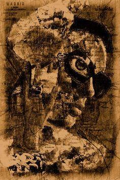"Saatchi Art Artist ACQUA LUNA; Photography, ""56-World STREETS. - Limited Edition 1 of 9"" #art World Street, Street Art, Original Artwork, Original Paintings, Art World, Artwork Online, Photo Art, The Good Place, Saatchi Art"