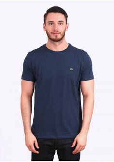 e85aafe104 Lacoste Basic Logo Tee - Midnight Blue Paul Smith, Blue Dresses, T Shirt,