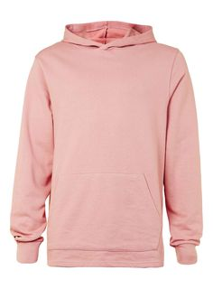Pink Fixed Hem Oversized Fit Hoodie