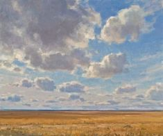 Clyde Aspevig via Yahoo Image Search Western Landscape, Landscape Art, Landscape Paintings, Painting Inspiration, Art Inspo, Clyde Aspevig, Cloud Art, Paintings I Love, Sky And Clouds