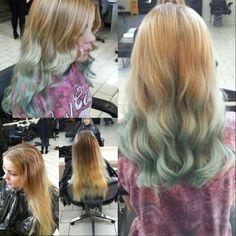 #Loreal #Hair #BlueHair Loreal Hair, Blue Hair, Long Hair Styles, Beauty, Long Hairstyle, Long Haircuts, Long Hair Cuts, Beauty Illustration, Long Hairstyles