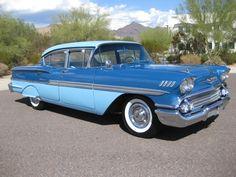Chevrolet Biscayne 4dr Sedan 1958.