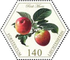 Sello: Appels (Liechtenstein) (Old Fruit Varieties) Mi:LI 1772,Sn:LI 1779,Zum:LI 1723