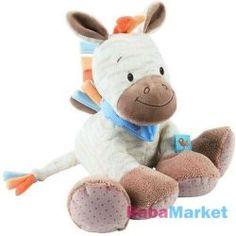 Babajáték Nattou plüss játék Arthur and Louis - Arthur zebra Dinosaur Stuffed Animal, Teddy Bear, Toys, Animals, Animales, Animaux, Gaming, Games, Animais