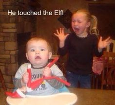 He touched the elf!!!