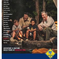 Join Scouting Night is August 25th at 6:30 pm at most elementary schools. Find out more at:  www.quapawbsa.org