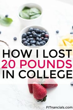 Check out how to lose weight in college. This is such a great tool to change your lifestyle.