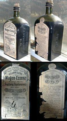 Antique Bitters Bottles
