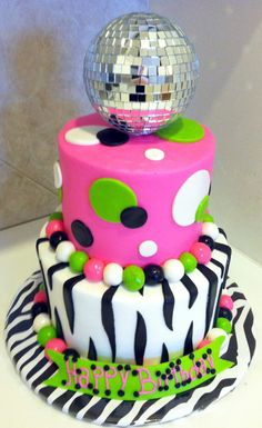 Cake Decorating Disco Ball : 1000+ images about Sydney Disco Dance Party on Pinterest ...