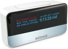 Donation Alarm Clock: This kills two resolutions with one stone: every time you hit the snooze button, it donates some of your money to a charitable organization.