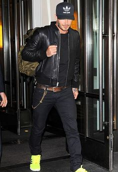 David Beckham in NYC