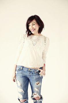 keiko lynn: Got holes in my new jeans.