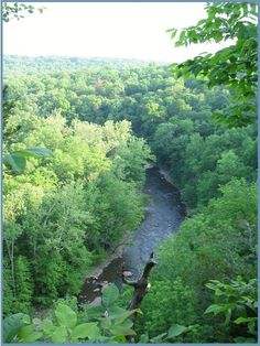 View from High Rocks, Ralph Stover State Park in Bucks Co., PA
