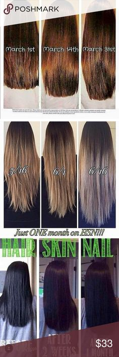 2 Hair Models Needed! 90 Day Challenge! NEW JULY CHALLENGE! I need TWO more ladies to take the 90 day mermaid challenge and provide results or a testimonial! To thank you, you will receive MY discounted price and get $22 off each bottle!😍 These all natural vitamins are AMAZING! I have tried biotin, hair infinity, and everything else you can imagine and there is NOTHING like this. If you want to grow your hair LONG, FAST, this is what you are looking for!😊Contact if interested in the 90 day…