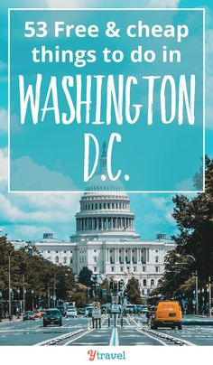 Washington DC is a great family vacation destination in the USA, made even better because there are tons of budget friendly things to do. Here are 53 free & cheap things to do in Washington D. Walking tour of the m Viaje A Washington Dc, Washington Dc Vacation, Washington Dc Attractions, Washington Dc Travel Guide, Washington Dc With Kids, Washington Apple, Family Vacation Destinations, Travel Destinations, Vacation Ideas