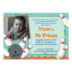 Are you planning a bowling birthday party and in need of bowling birthday party invitations? No matter if your child is a boy or girl (or heck,. Birthday Gifts For Teens, Birthday Gifts For Kids, Birthday Gifts For Boyfriend, Birthday Bash, Birthday Ideas, Bowling Party Invitations, Birthday Party Invitations, Christmas Card Holders, Custom Invitations