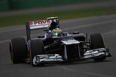 2012 Melbourne Williams FW34 Bruno Senna