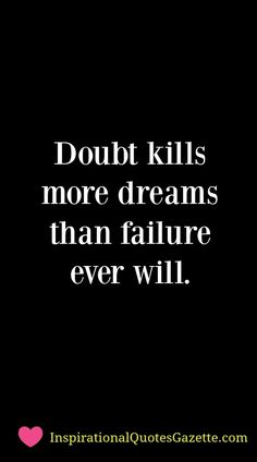 Inspirational Quote about Life and Dreams - Visit us at InspirationalQuotesGazette.com for the best inspirational quotes!