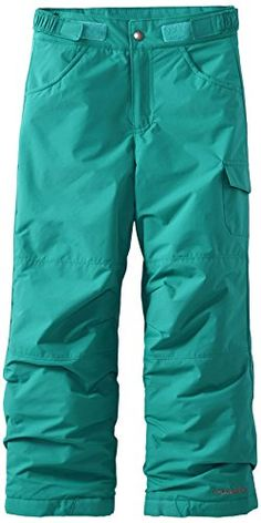 Columbia Girls' Starchaser Peak II Pant Omni-shield technology makes these warm, insulated pants resistant to rain and stains and snow. And the outgrown system Snow Wear, Columbia Girls, Waterproof Fabric, Latest Fashion Trends, Girl Fashion, Style Fashion, Parachute Pants, Legs, How To Wear
