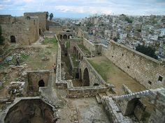 LEBANON, TRIPOLI, ST. GILLES CRUSADER FORTRESS, LARGEST & BEST PRESERED IN LEBANON