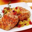 Como temperar salmão assado