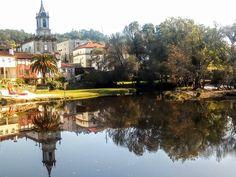 Boa tarde :D O magnífico espelho de água do rio Vez em Arcos de #Valdevez. Fotografia partilhada por Maria Gonzalez Cameselle - http://ift.tt/2fQuxRg - http://ift.tt/1MZR1pw -
