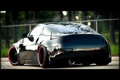 BLACK #350Z NISSAN
