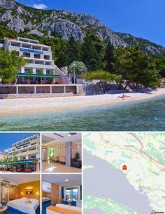 Este hotel se halla junto a la playa principal y no queda lejos del centro, al que está conectado por un paseo. Es ideal para aquellos huéspedes que busquen unas vacaciones activas y ofrece de todo, desde la posibilidad de nadar y tomar el sol, hasta excursiones a la campiña, salidas nocturnas y delicias gourmet en la terraza de verano. Está aproximadamente a 120 km del aeropuerto de Split.