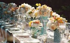 Image result for images of wedding table centres
