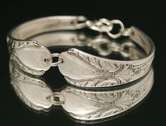 Upcycled Silverware Jewelry : Vintage Antique Avalon 1940 Spoon (Etsy)