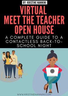 Meet The Teacher, Letter To Teacher, Letter To Parents, Online Classroom, School Classroom, Classroom Ideas, Flipped Classroom, Classroom Activities, Back To School Night