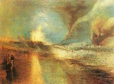 Rockets and Blue Lights Joseph Mallord William Turner