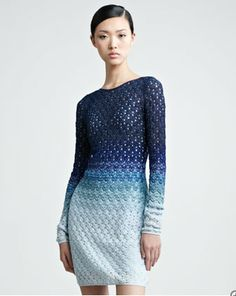 Missoni Ombre. Dressology Dress of the Day.