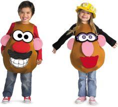 Mr. or Mrs. Potato Head Deluxe Toddler / Child Costume