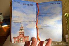 #sketchbook journal ... Independence Hall
