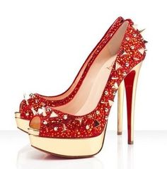 New style of Christian Louboutin collection 2012.The Louboutin Shoes of his new collection can make every woman feel comfortable and beautiful, because of the fancy designs, shapes, colors and heights to suit everyone's taste. #Love @Louboutin