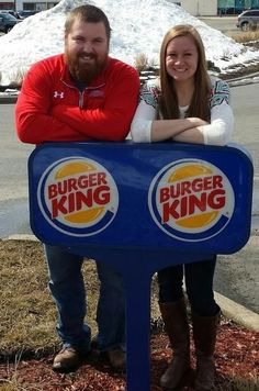 The crazy reason Burger King is paying for this couple's whole wedding