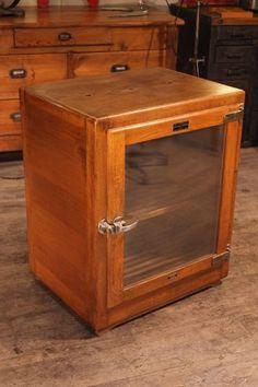 ancien frigidaire glaciere frigo chene armoire refrigerante annee 50 60 for the home. Black Bedroom Furniture Sets. Home Design Ideas